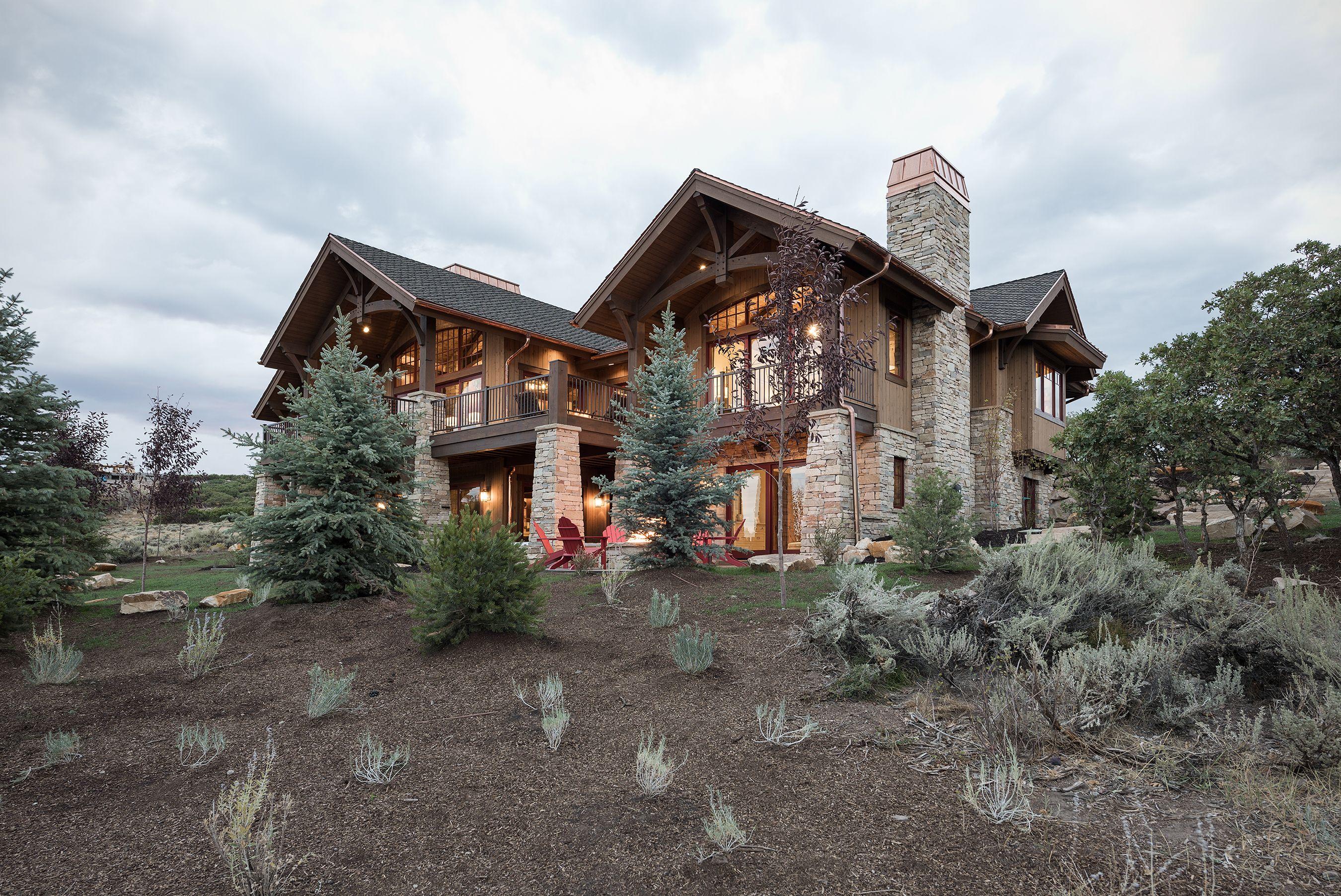 Backyard Landscaping In Promontory Park City Utah Timberridge 2016