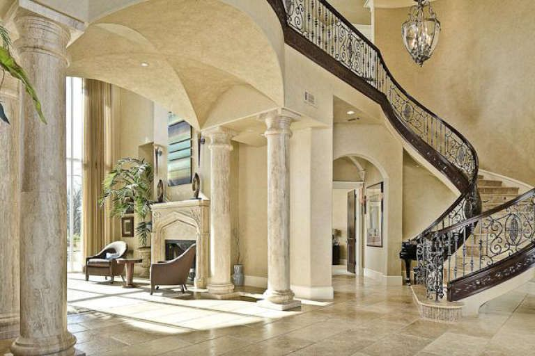House Plan 5445-00253 - Mediterranean Plan: 7,587 Square Feet, 5 Bedrooms, 7 Bathrooms