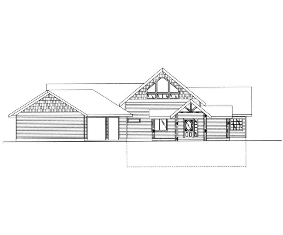 Lake Front Plan: 4,104 Square Feet, 3 Bedrooms, 3 Bathrooms - 039-00368