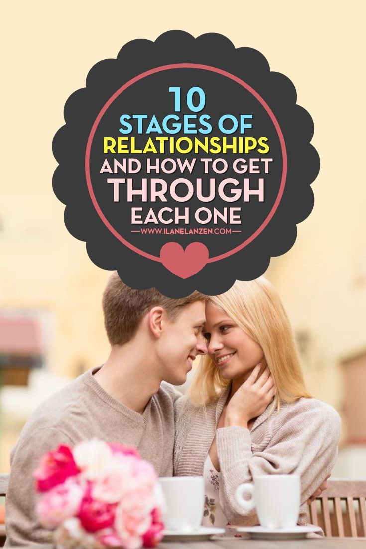 Stages of a healthy dating relationship