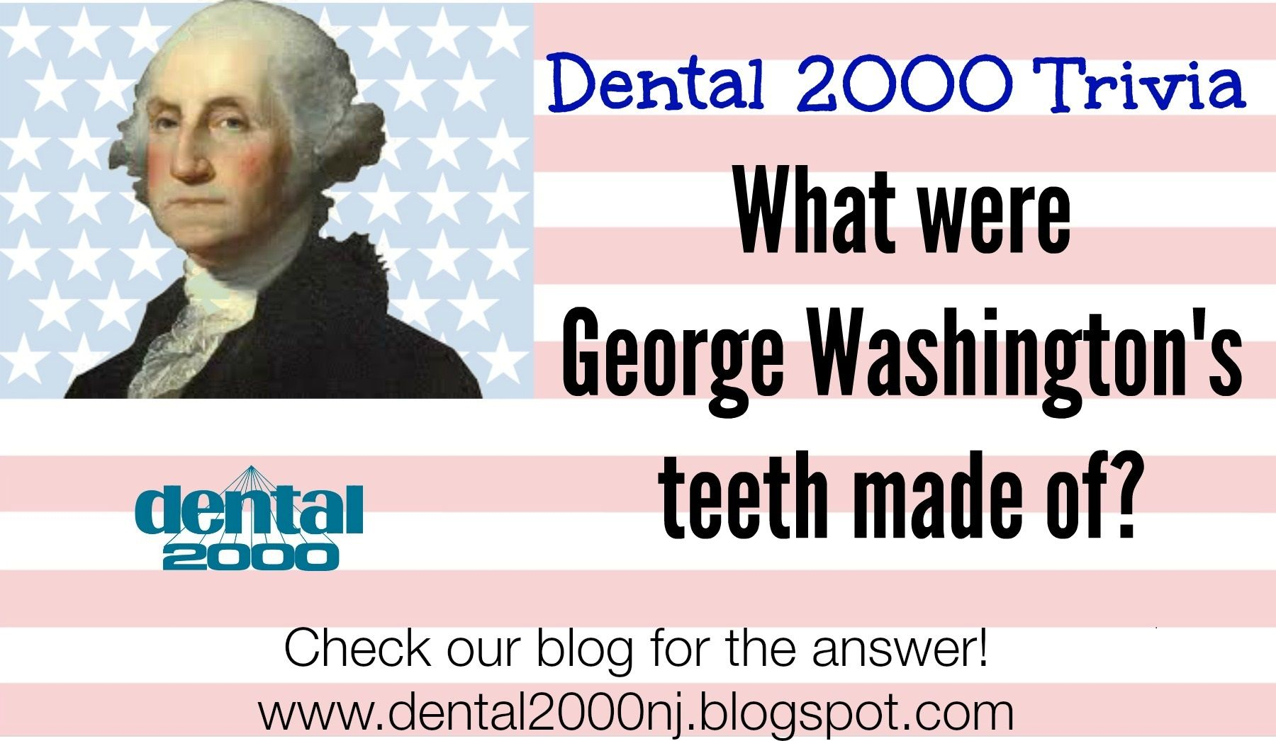 What Were George Washington S Teeth Made Of Comment With