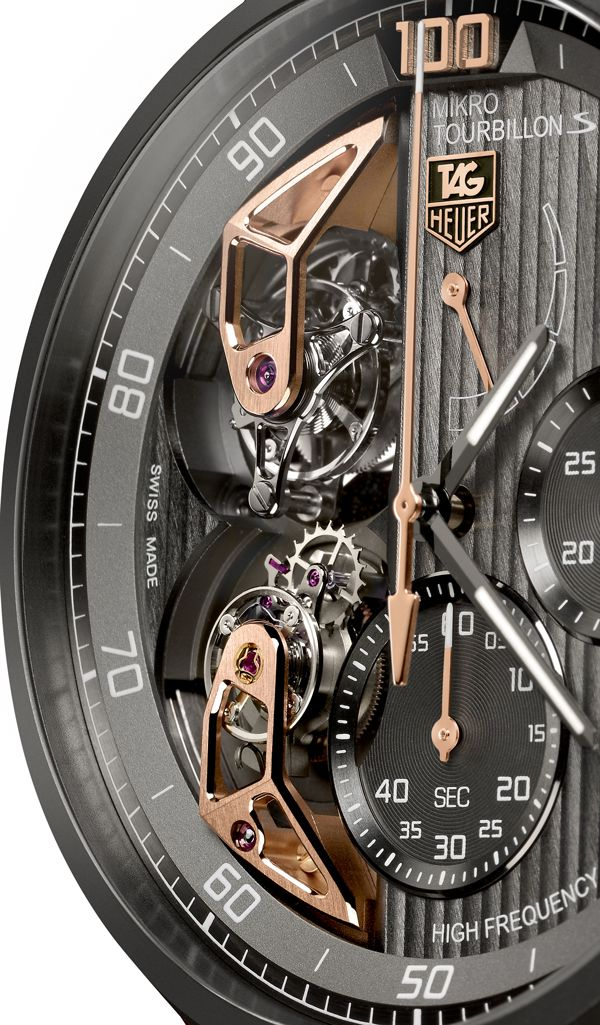 Tag Heuer the MikrotourbillonS, the ultimate in High Precision Haute Horlogerie (1/3)