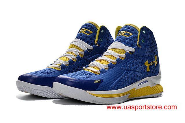 UA Icon Curry 1 Customized All Blue