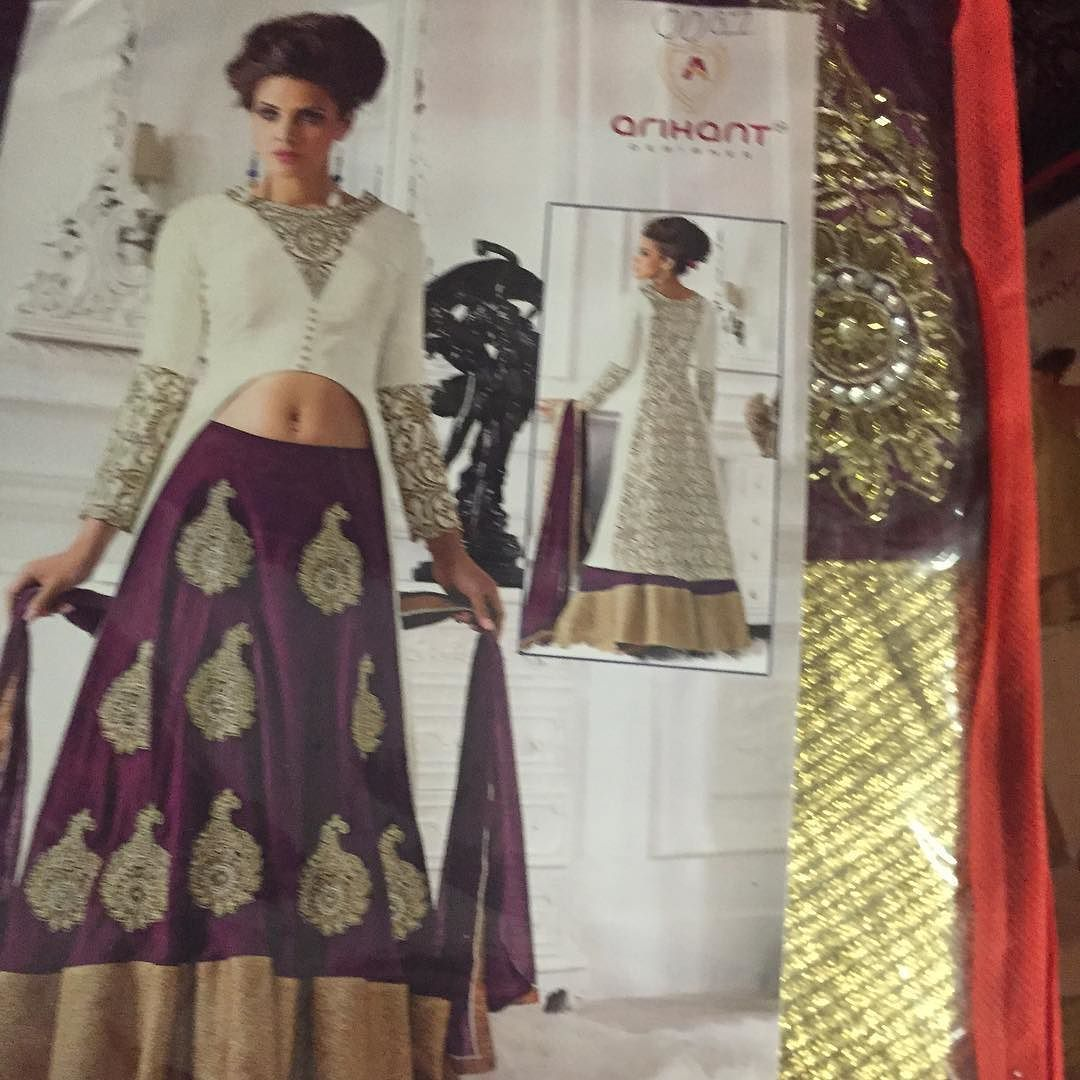 Gorgeous hot designer semistitched suit now available on our