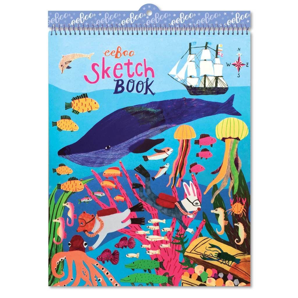 EeBoo Sketchbook: In The Sea