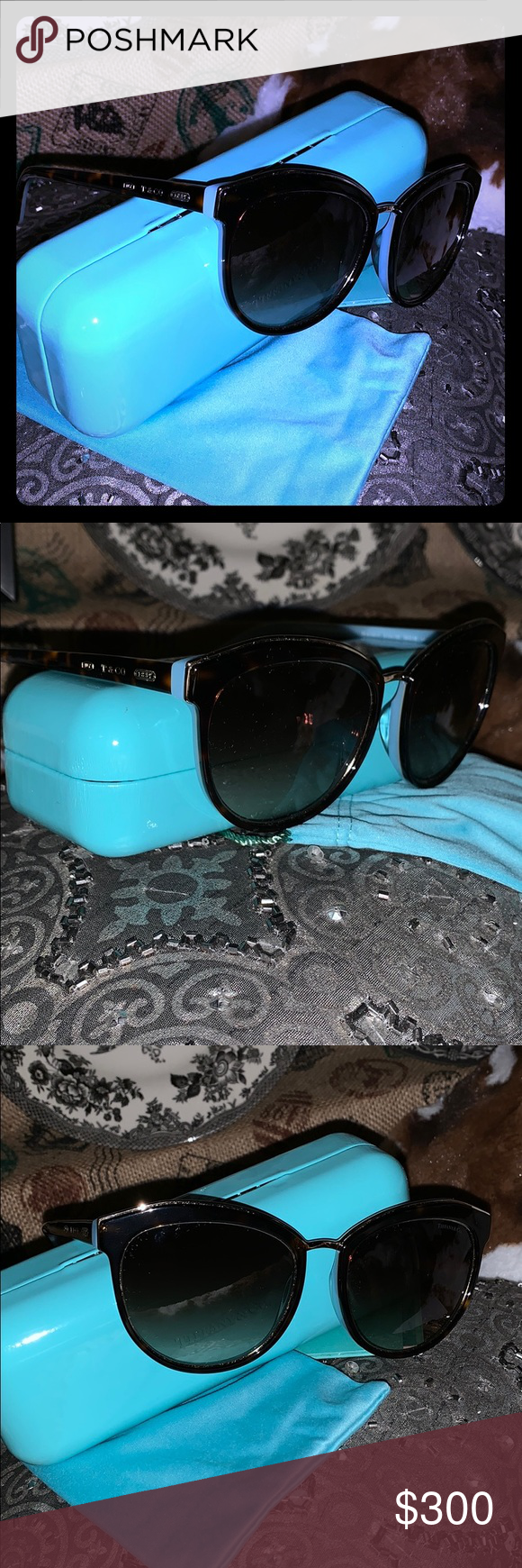 0e7c1d18d87e ... Tiffany Sunnies 🌺 Brand new never used Authentic Tiffany   Co. Sunnies  - dust bag - paperwork - case BRAND NEW Tiffany   Co. Accessories Sunglasses