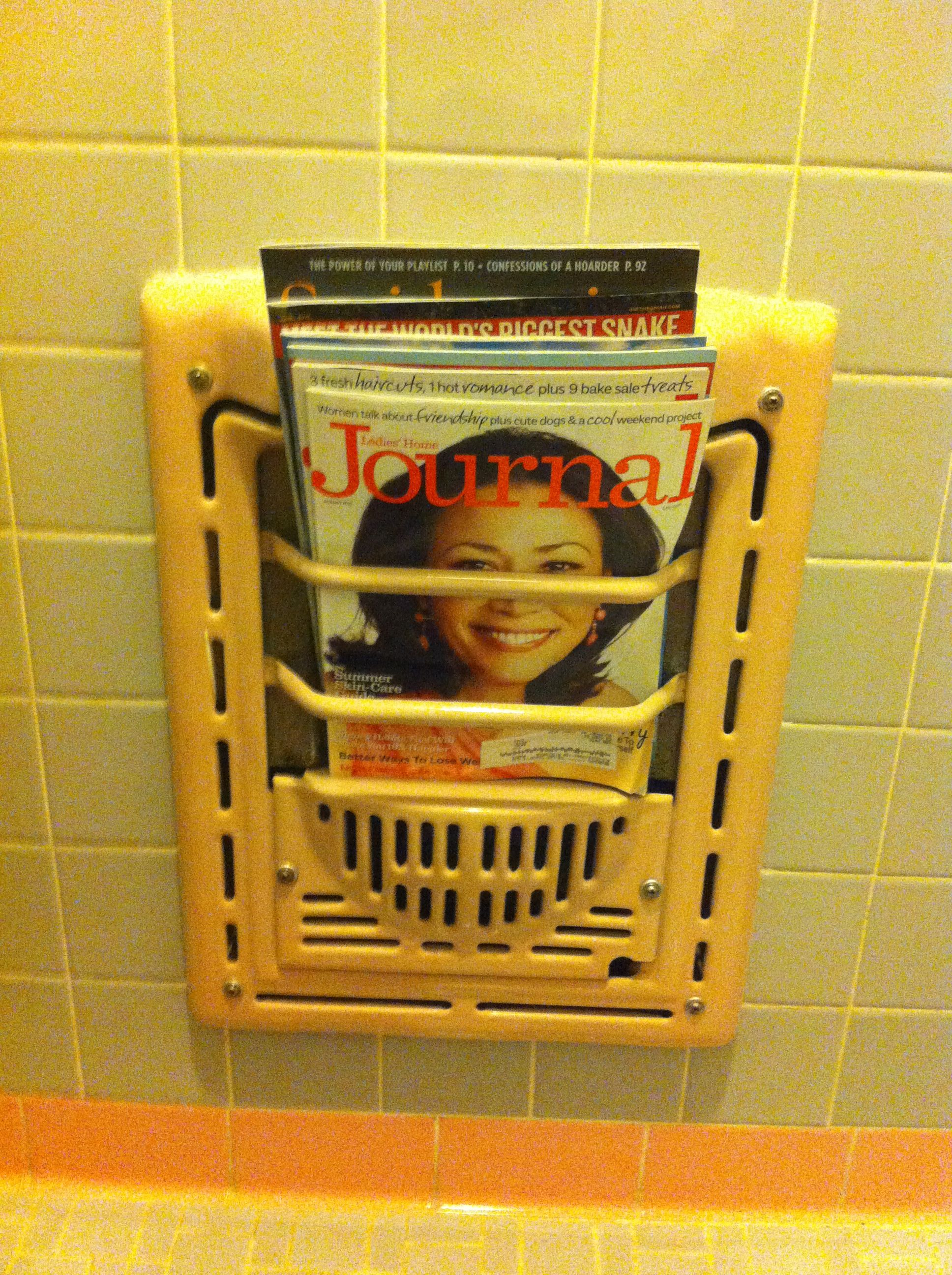 bathroom paper magazine the wall toilet rack cup pin holder and insert in