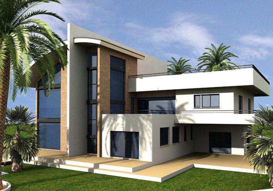 Fachadas de casas bonitas con curvas fachadas casa for Fachada de casas modernas y bonitas