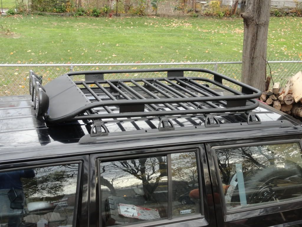 Build Your Own Roof Rack For 70 Jeepforum Com Roof Rack Basket Roof Rack Car Roof Racks