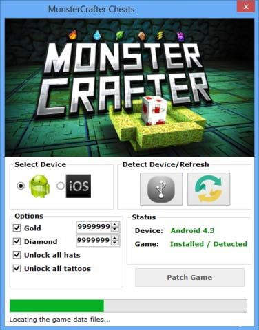 Monstercrafter Hack Tool Cheats No Survey Or Password For Free