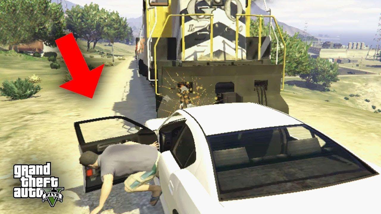 Gta 5 Train Vs Car Truck Bus Crashes Train Crashes Compilation Tra Train Crash Car Games Outdoor Gear