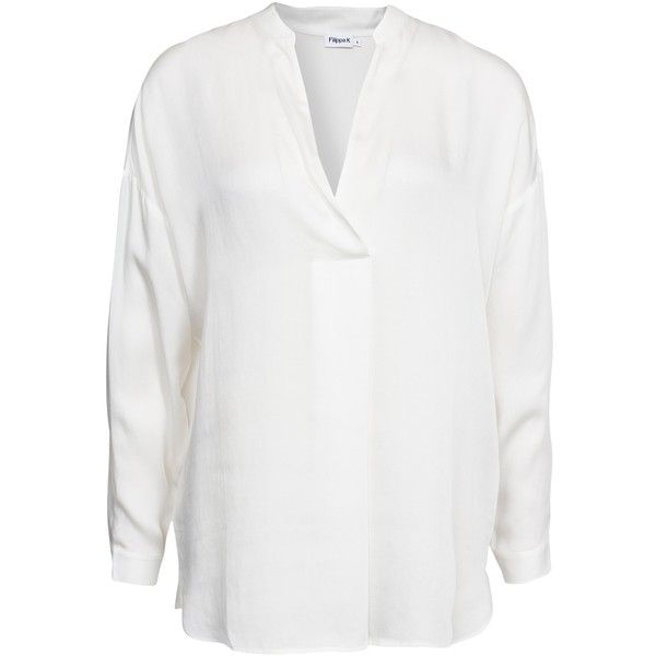filippa k tencel satin blouse