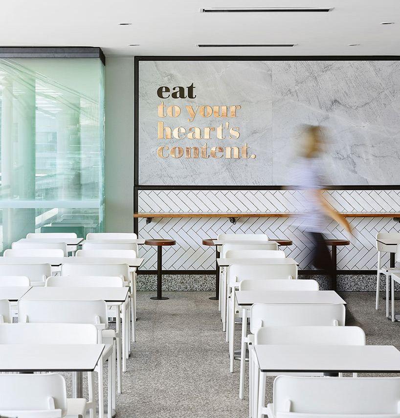 Mmo interiors upgrades riverside food court interior in for Interior design agency brisbane