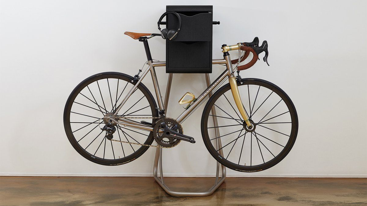 A 4 000 Bike Hanger That Also Plays Music Bike Hanger Bike Bike Lights