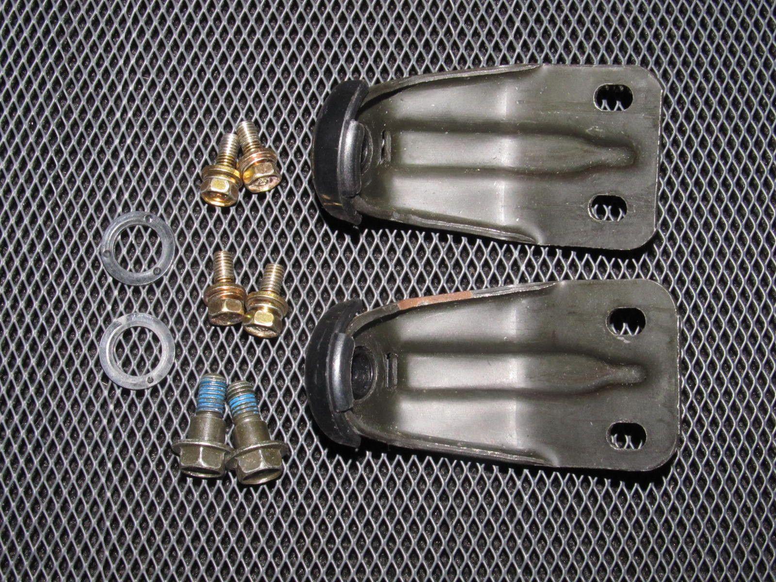 92-95 Honda Civic OEM Radiator Mounting Bracket - 2 pieces