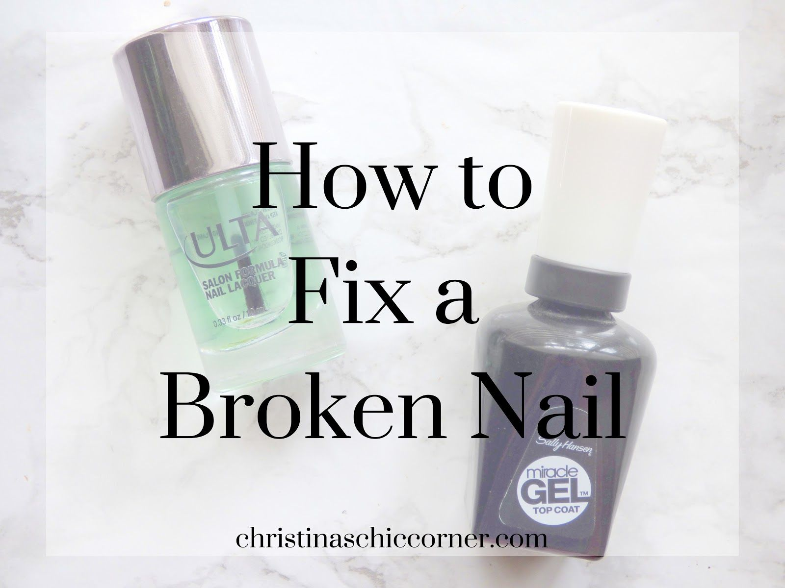 How to Fix a Broken Nail Fix broken nail, Broken toenail