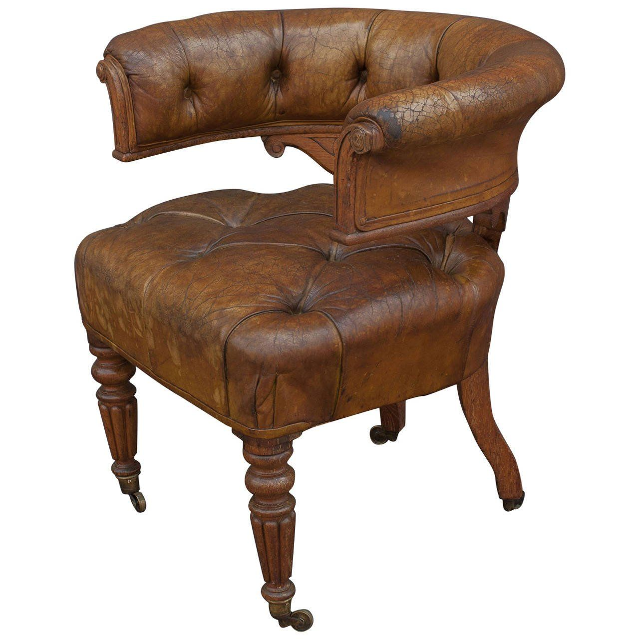2018 Antique Leather Desk Chair - Best Cheap Modern Furniture Check more at  http:/ - 2018 Antique Leather Desk Chair - Best Cheap Modern Furniture Check
