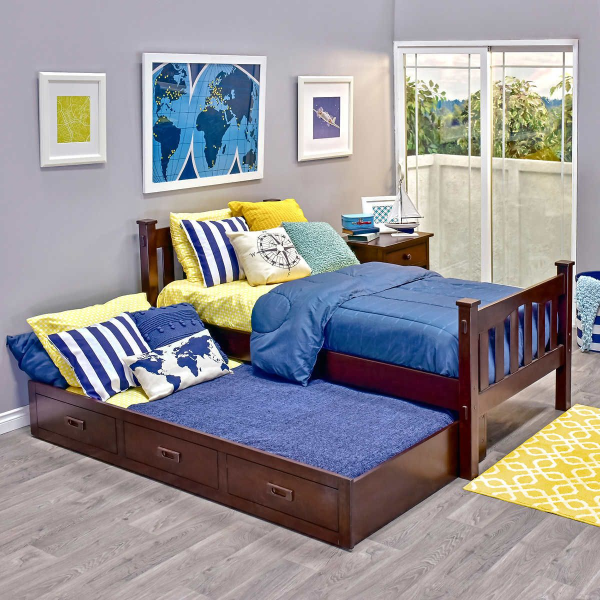 Pin by Sarah Brokman on Boys bedroom Twin trundle bed