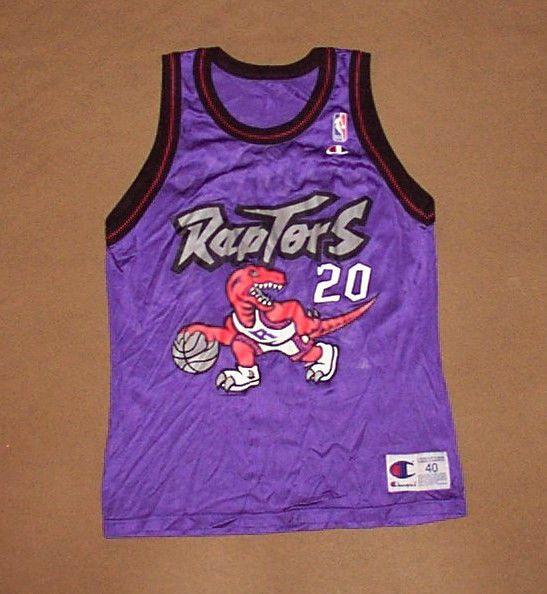 VINTAGE Toronto Raptors JERSEY Damon Stoudamire NBA Champion SZ 40  Basketball    39ea63465