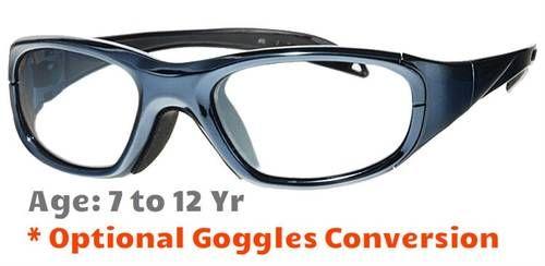 acfd34fea6b 7-12 yrs  Rec Specs Maxx 20 Sports Glasses  Laser Chrome - 51 Size ...
