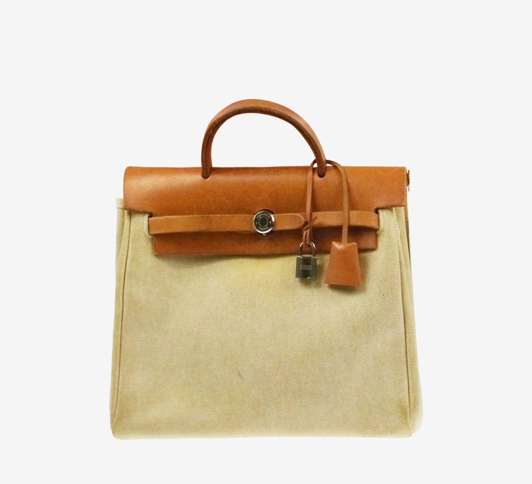 Hermès Beige / Camel Backpack | VAUNTE