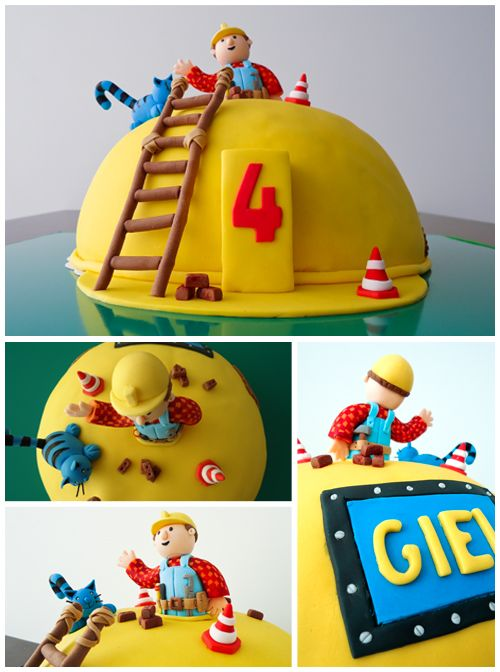 bob de bouwer taart maken birthday cake #bob the builder | Birthday Ideas for Brody  bob de bouwer taart maken