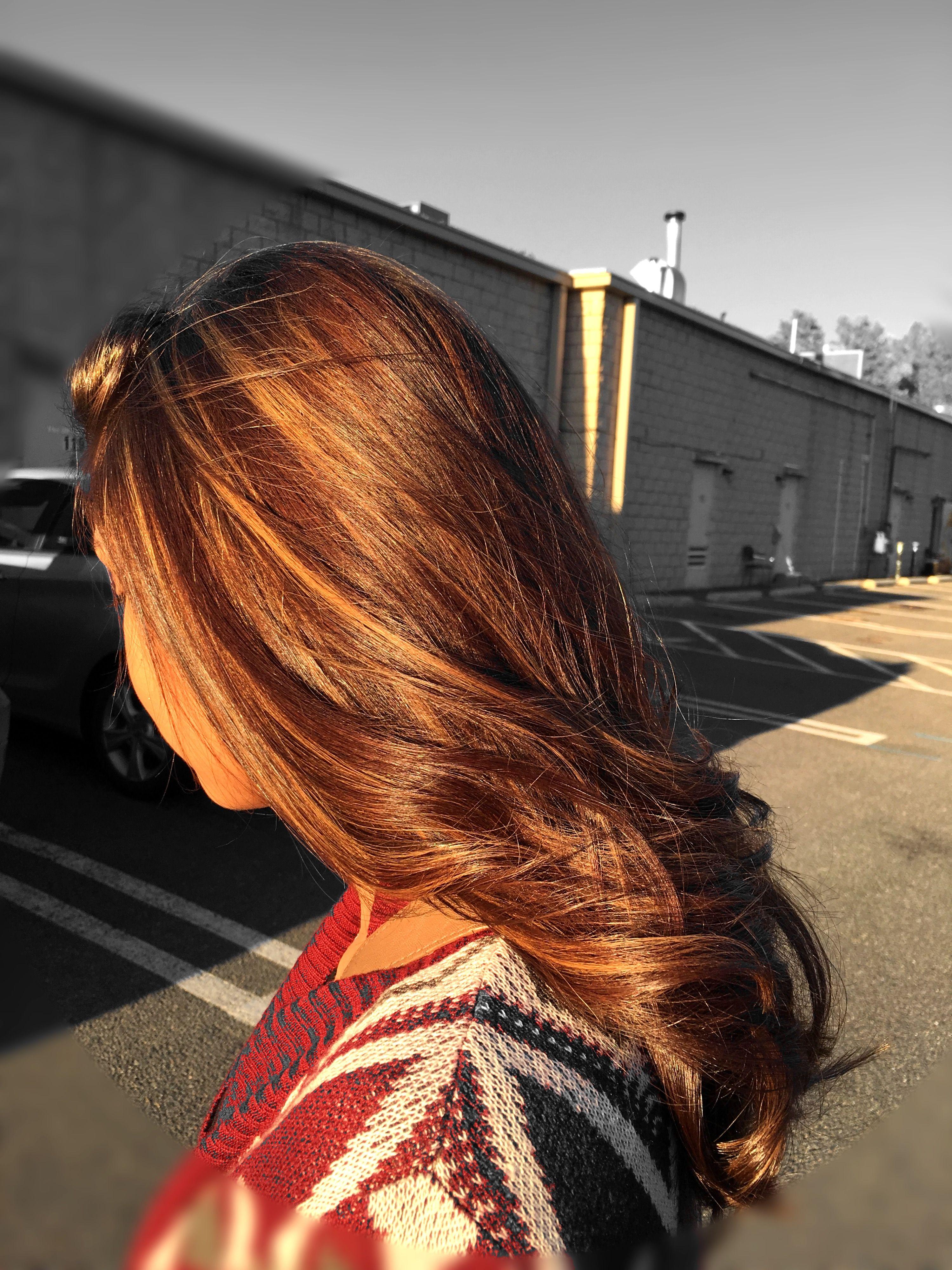 Fall Hair Color Caramel Highlights Auburn Hair | Hair ...