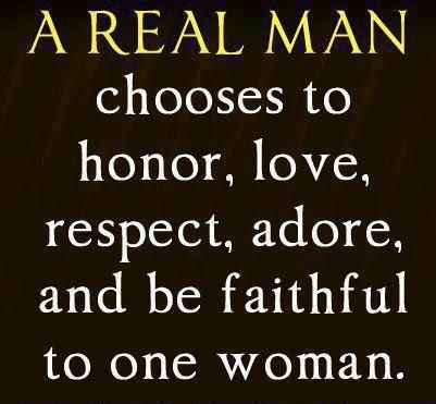 True The Same Applies To Being A Real Woman I Ve Never Cheated