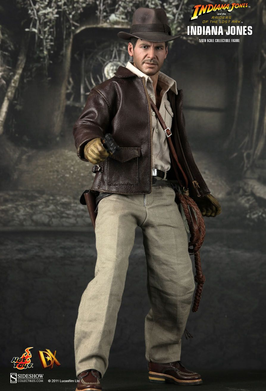Hot Toys Hottoys Indiana Jones Raiders Of The Lost Ark 1 6 Scale