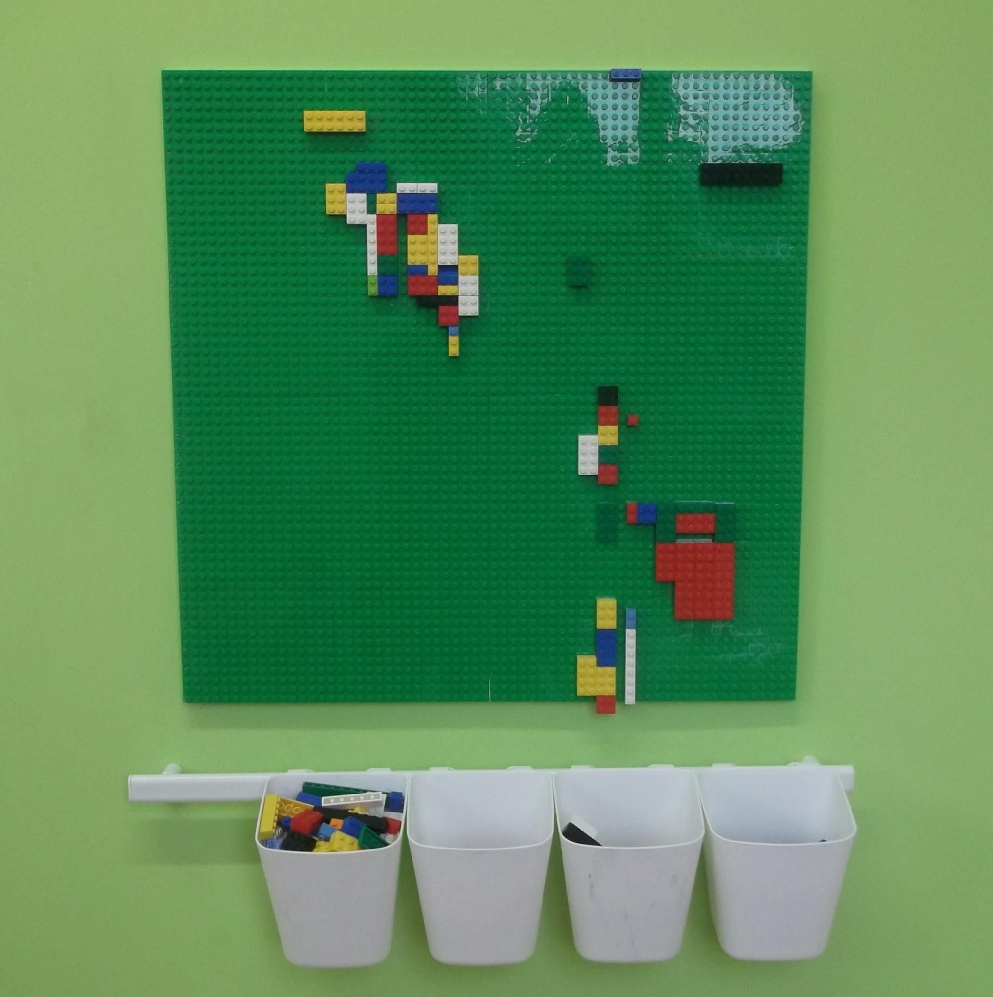 32 Things That Belong In Your Child s Dream Room A LEGO wall