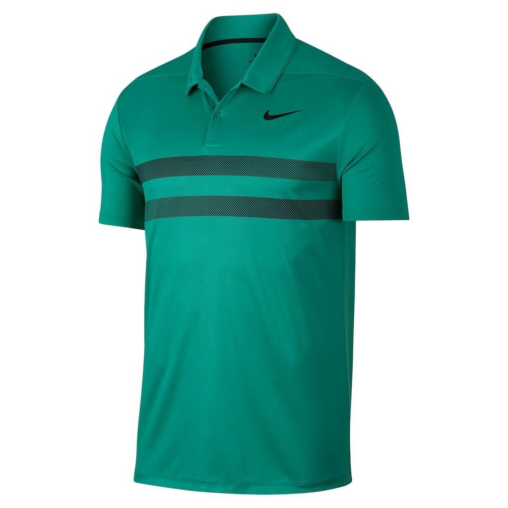 79aa0a54 Men's Nike Essential Dri-FIT Striped Golf Polo, Size: 3XL, Green ...
