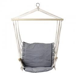 fantastic grey canvas hammock chair find a quiet spot in the garden or hang indoors fantastic grey canvas hammock chair find a quiet spot in the      rh   pinterest