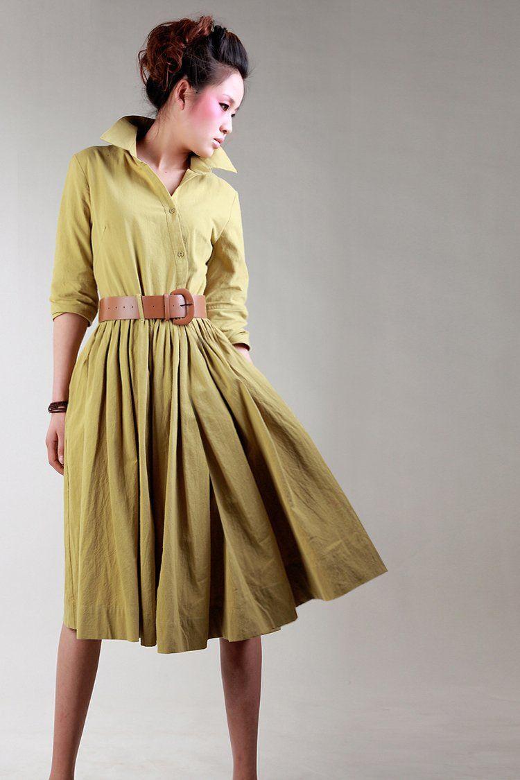 Linen Dresses For Women - Qi Dress