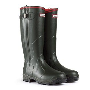 Hunter Balmoral Neoprene Zip Wellington Boots from ArdMoor for a great pair  of neoprene-lined, side-zip wellingtons with great warmth, grip and  durability.
