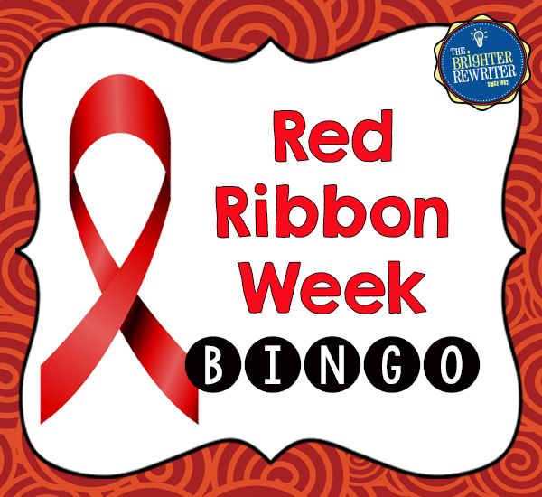 red ribbon week bingo and bookmarks red ribbon week drugs abuse  counselling