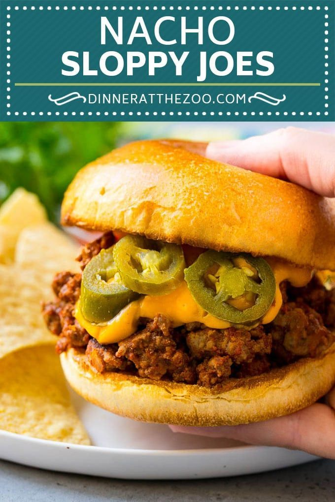 Nacho Sloppy Joes Recipe images