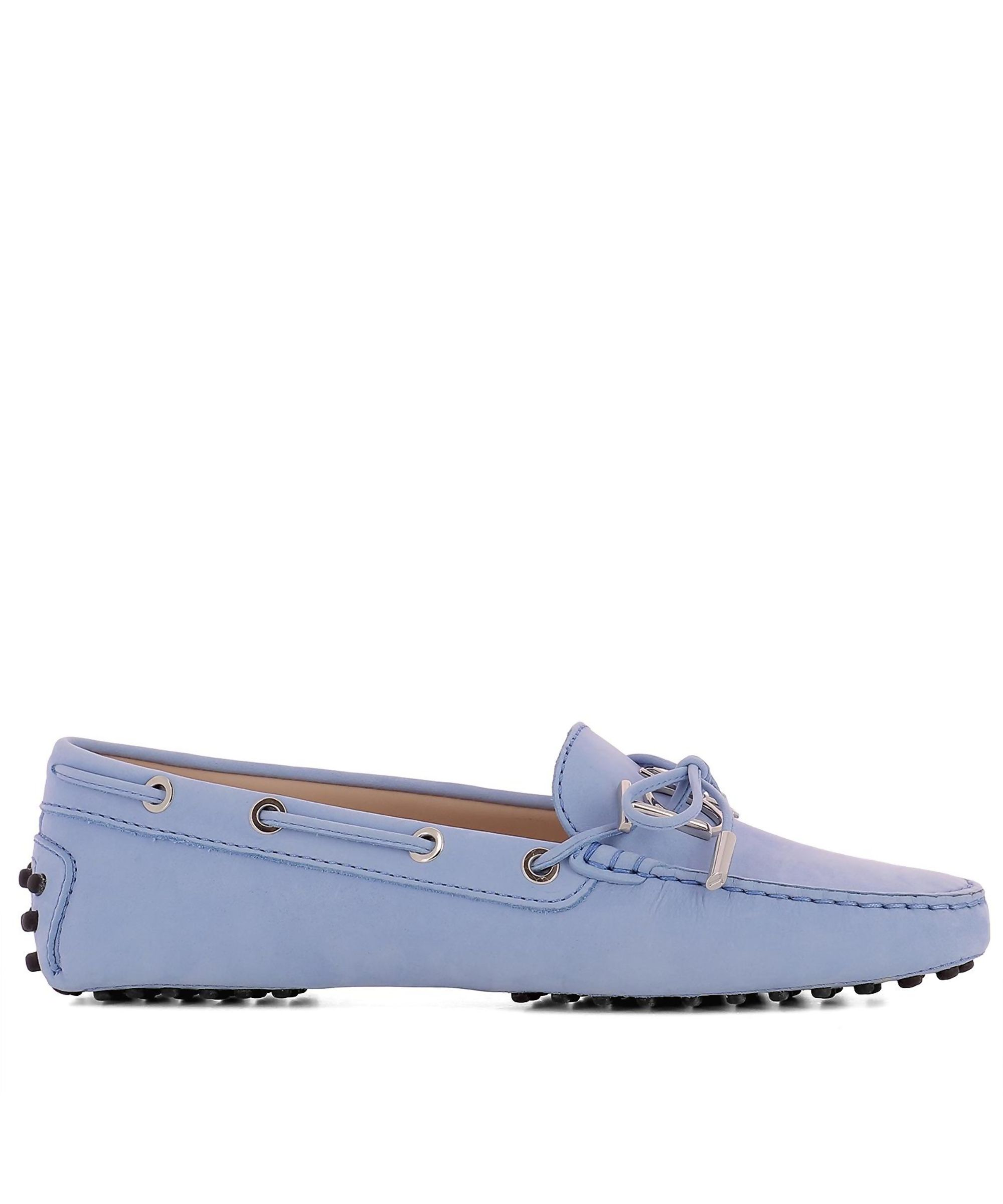 f904c7cdd93 TOD'S | No Brand Women's Light Blue Suede Loafers #Shoes #Loafers #TOD'S