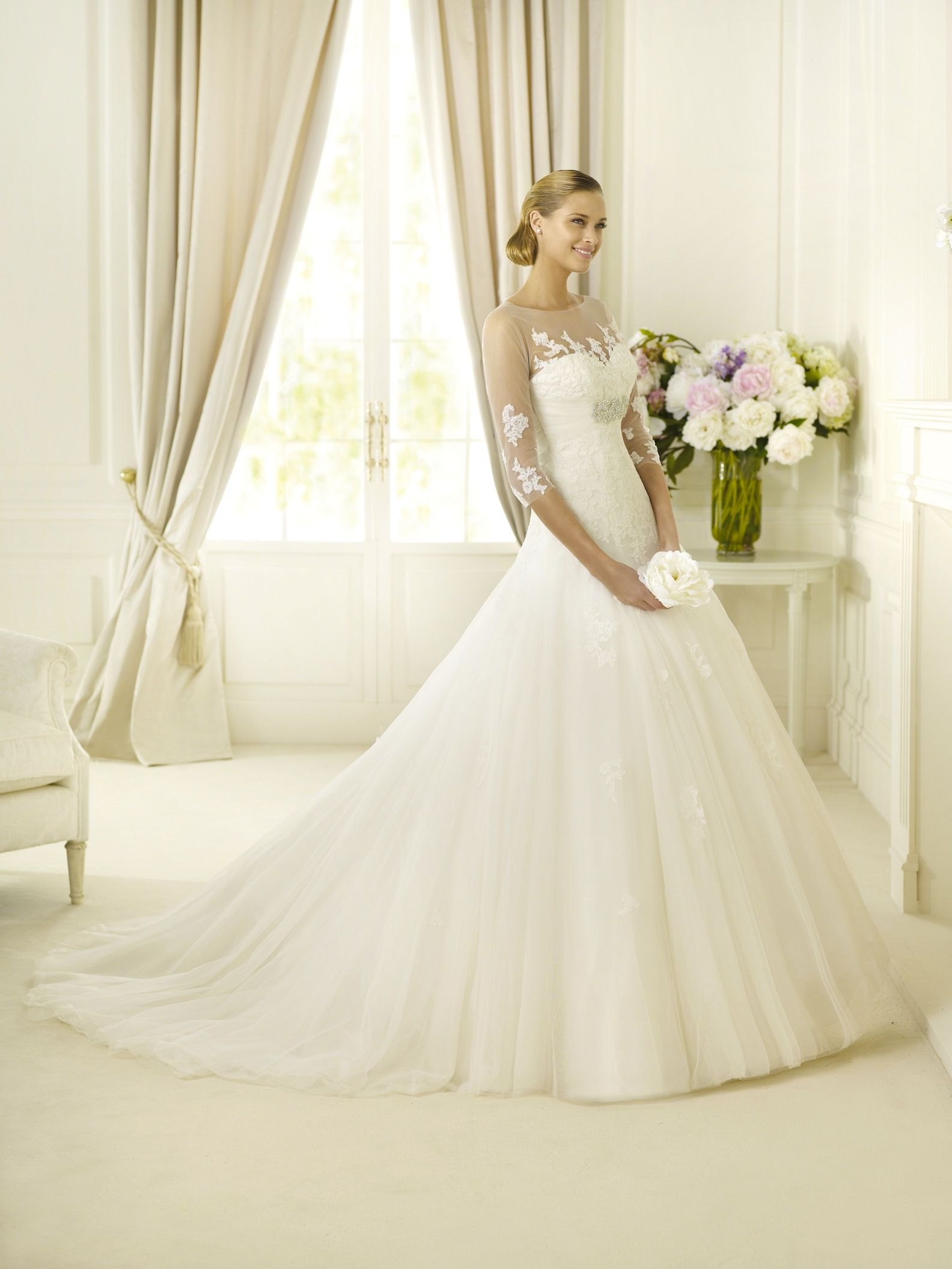 Pronovias Daifa | Wedding Fashion | Pinterest | Wedding, Wedding ...