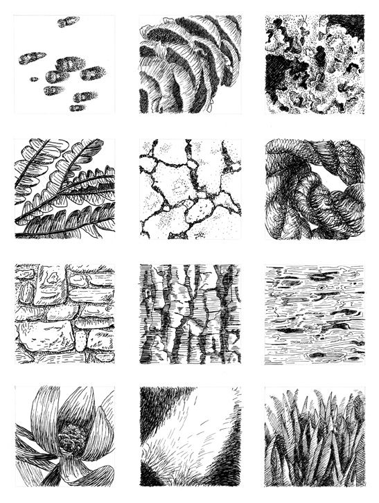 How to draw texture teach pinterest object drawing for How to draw a room to scale