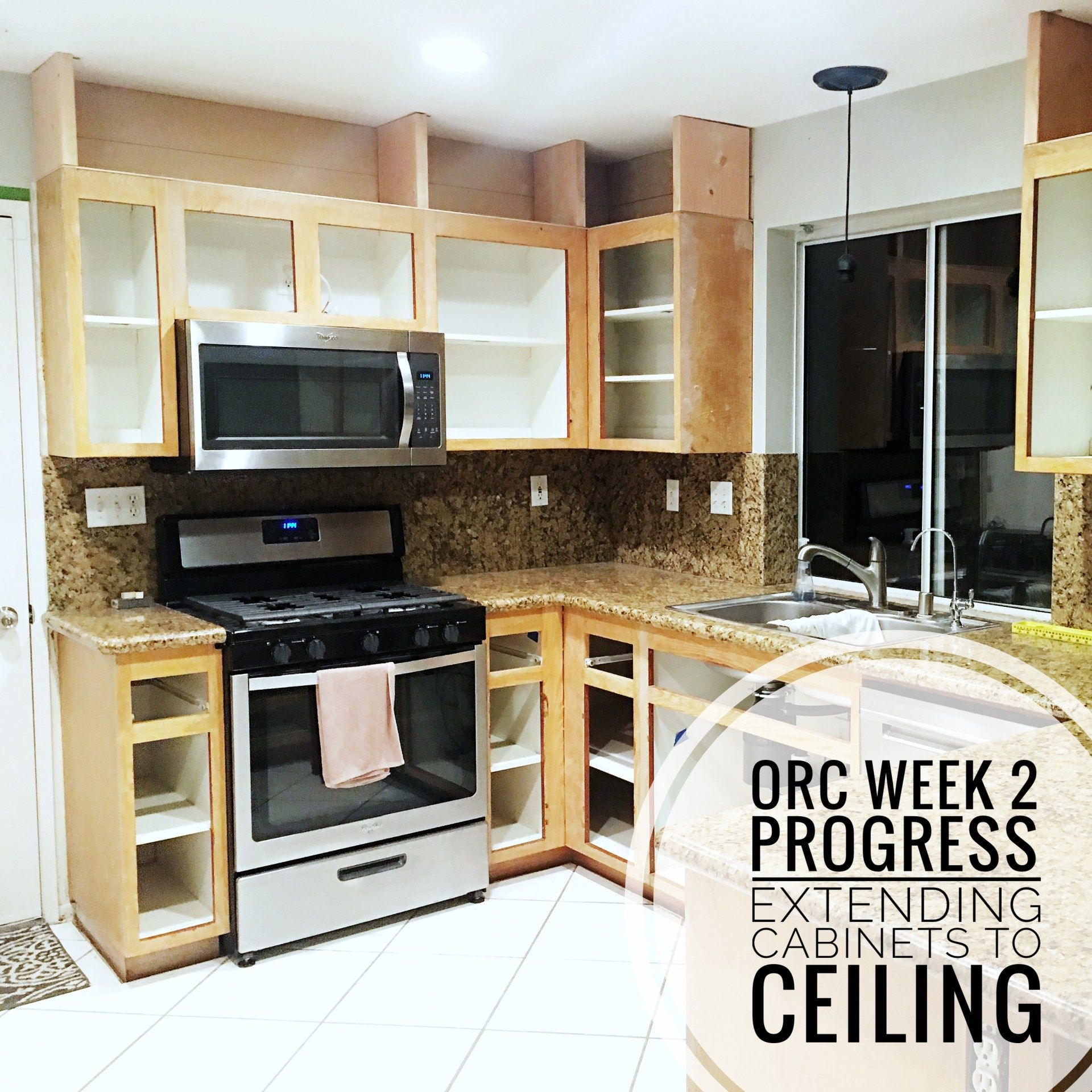 How To Extend Cabinets To Ceiling Cabinets To Ceiling Cabinets To Go Cabinet