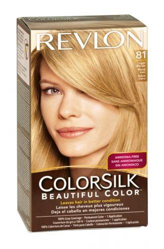 Revlon Colorsilk Hair Colour 81 Light Blonde Revlon Colorsilk