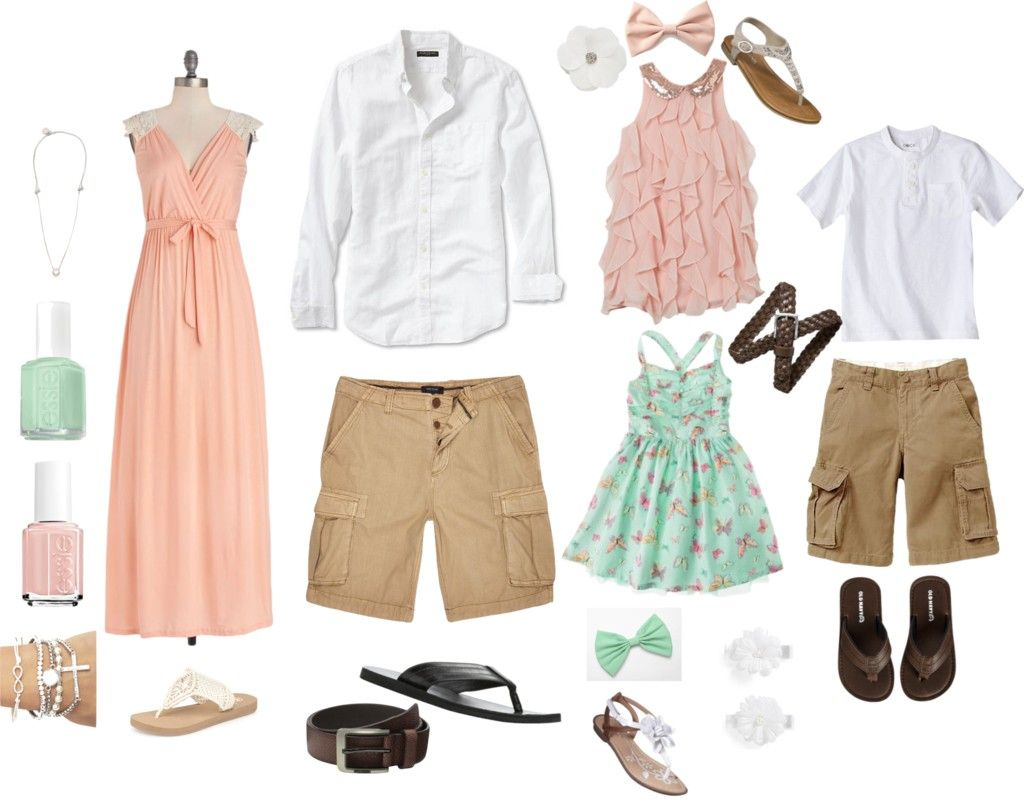 Picture family ideas what to wear summer photos