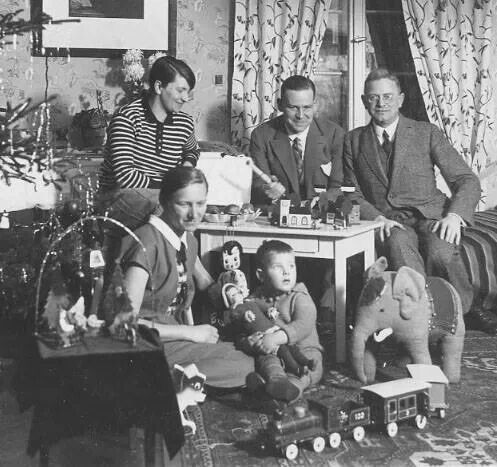 Image result for family christmas images from 1930