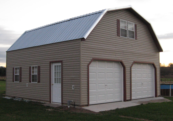 2 Story Garages 2 Story Buildings Give You Twice The Space Two Story Garage 2 Story Garage Prefab Garages