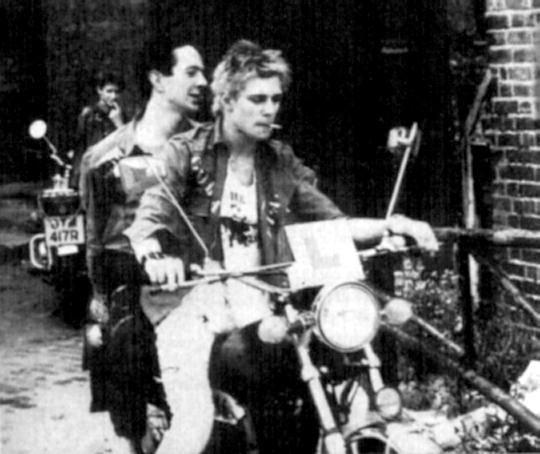 Joe Strummer Paul Simonon The Clash