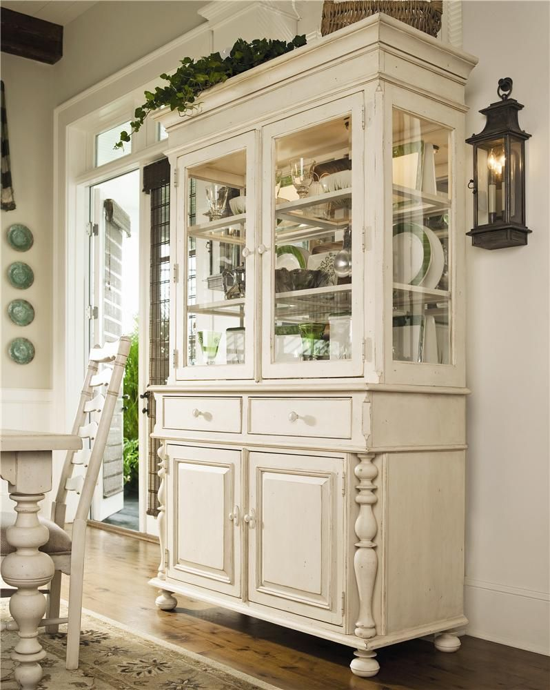 Home Buffet Hutch China Cabinet By Paula Deen By Universal