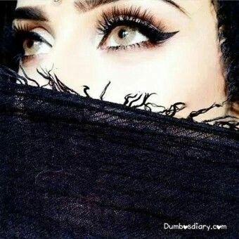 Heartless Fai Niqab Eyes Attractive Eyes Girls Eyes