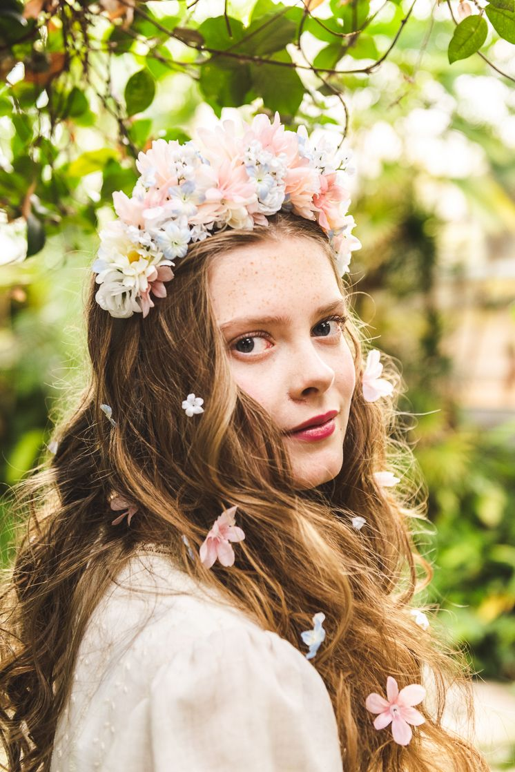 Diy floral headpiece inspired by maleficent mistress of