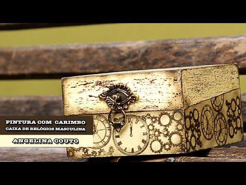 bf7e3d5423b 01 10 2014 - Caixa de relógios com carimbos (Angelina Couto ...