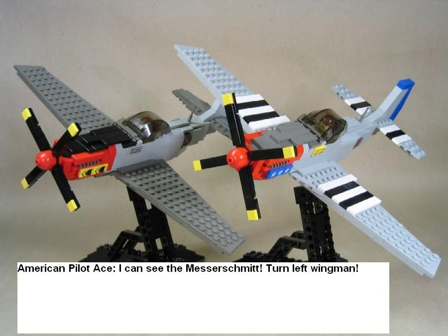 how to make lego plane fly